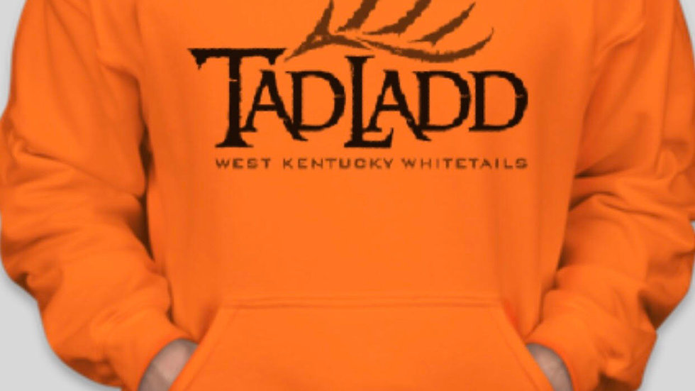 Gildan Hoodie Sweatshirt-Hunter Orange