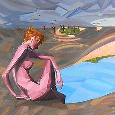 Body - Subject - Space, Painting Series, Triangulism Art,Triangolismo, Arte Metafisica, Metaphysical Painting