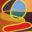 Windows Painting Series, Leon 47, Abstract Art