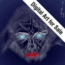 Digital Art for Sale Icon, Limited Edition Digital Art to Sell, Buy Original and hand signed Print Digital Art, Leon 47, Leon XLVII