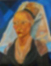 Flemish, Rogier van der Weyden, Modern Recreation, Renaissance Painting, Rinascimento, Leon 47, XLVII