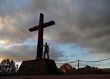 Sedona Cross #1, Photo for Sale, To Sell, Buy Metaphysical Photography, Fotografia Metafisica, Affordable Price, Arizona, AZ, USA