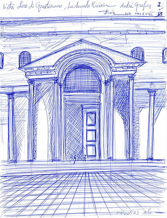 L'eta d'oro di Giustiniano Sketch for Sale, Sell, Buy, Schizzo, Affordable Price, Christian Art, Justinian
