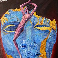 Painting Series, Arte Metafisica, Metaphysical Painting, Triangulism Art, Triangolismo