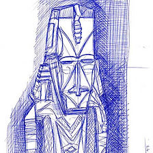 Sculpture Sketch - Oceania; la seconda R