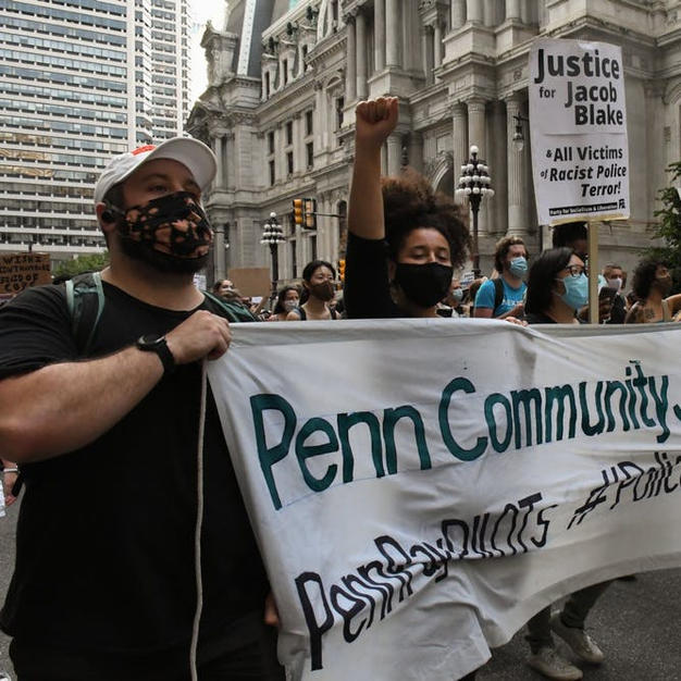 Hundreds march in Center City against police brutality in response to Jacob Blake shooting