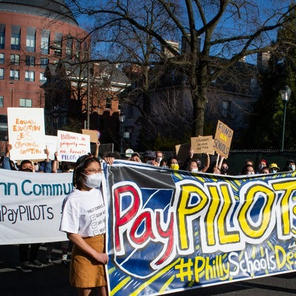 Protesters again push Drexel, Penn to pay PILOTs to Philly public schools