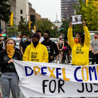 University groups protest in W. Philly seeking justice for Breonna Taylor