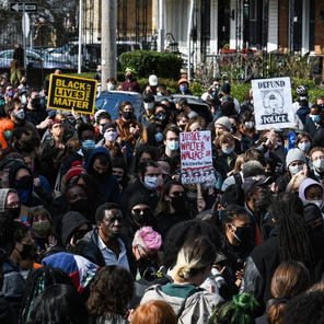 Hundreds march through West Philadelphia protesting police killing of Walter Wallace Jr.