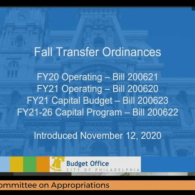 City Council Committee on Appropriations