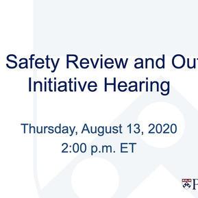 Penn Public Safety Review Part 1