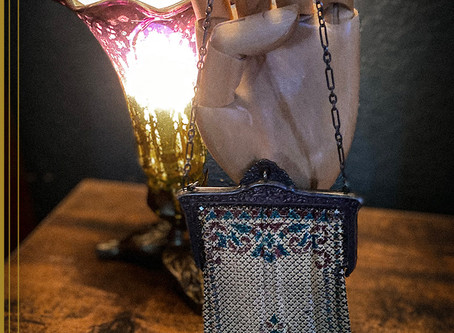 """Mystery History.... """"The Case Of The Chainmail Clutch!"""""""