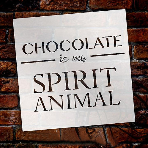 Chocolate Stencil