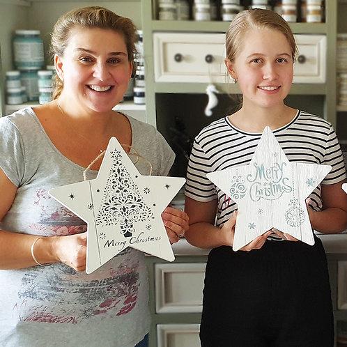 Christmas Star Painting Workshop