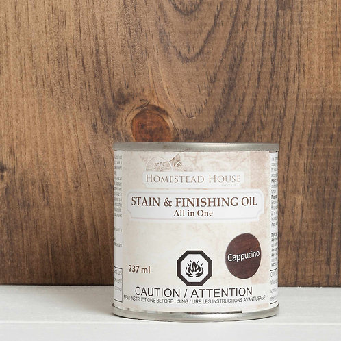 Stain & Finishing Oil - 6 colours