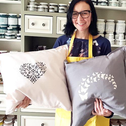 Cushions Stencilling Workshop