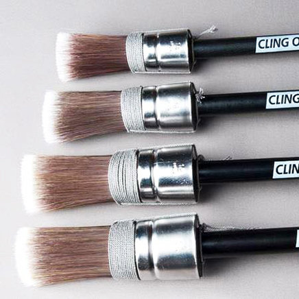 Round CLING ON! Brushes