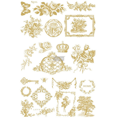 Gilded Home & Nature Transfer