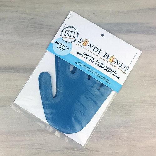 Left Hand Mixed Grit Sandpaper Pack