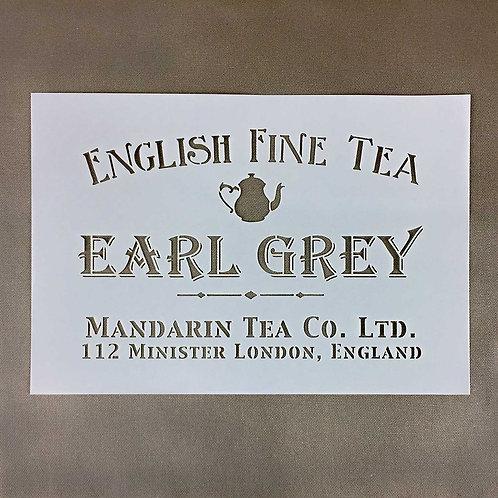 Earl Grey Stencil