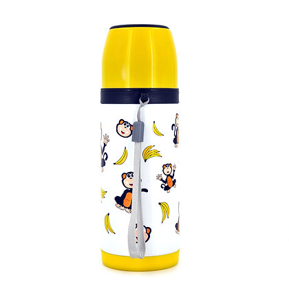 Hugger-thermos-Flask-Hydration-ADULTS-Flask-Water-Bottles-BPA-Free-Banana-Apes
