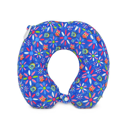 Hugger-Neck-Pillow-For-Kids-Travel-Neck-Pillow-Neck-Support-Pillow-Best-Neck-Pillow-High-Density-Memory-Foam-Owls