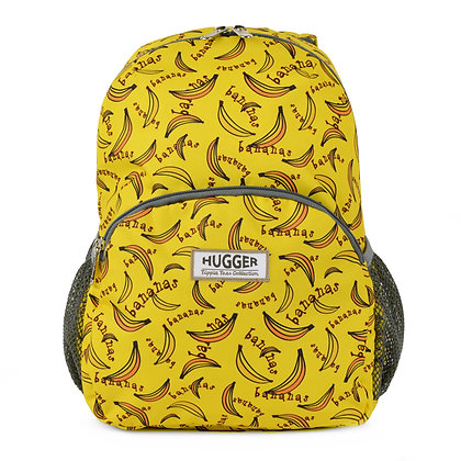 Hugger-Medium-Size-Backpack-Backpack-For-Girls-Daypack-School-Bags-Toddler Backpack-Mini-Backpack-Bananas