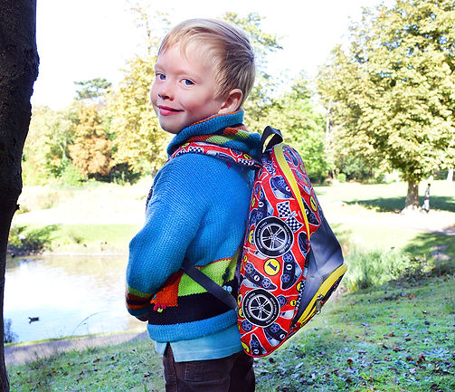 Hugger, Backpack, Daypack, school bags, toddler backpack, Racing Bag, Car Bag, Travel Backpack