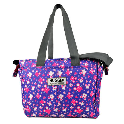 Hugger-Diaper-Bags-Mum-Parents-Baby-Bags-Changing-Bags-Pink-Mice