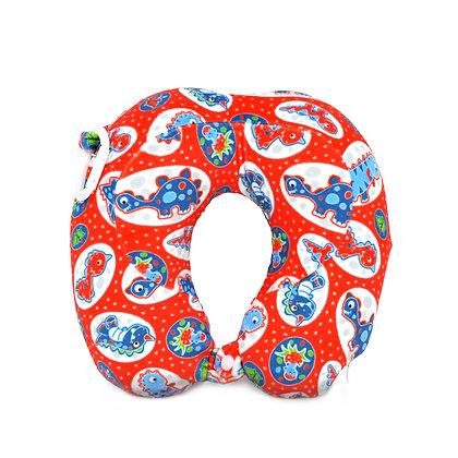 Hugger-Neck-Pillow-For-Kids-Travel-Neck-Pillow-Neck-Support-Pillow-Best-Neck-Pillow-High-Density-Memory-Foam-Dinosaurs
