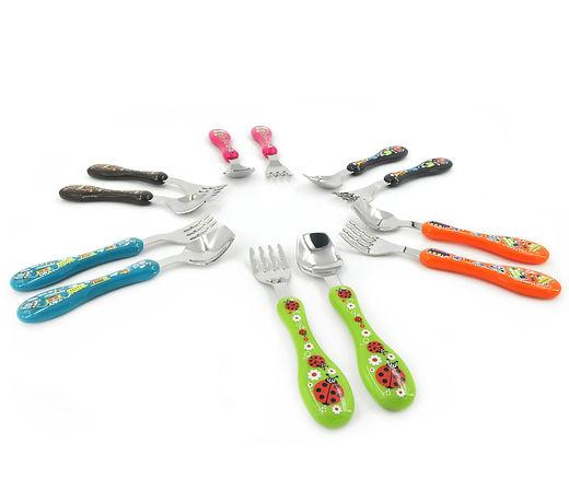 Hugger Cutlery, Dinner Sets, baby Spoons, yoghurt spoon, Noodle Fork