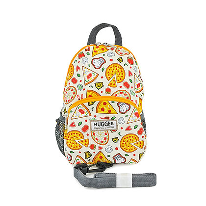 Hugger-Toddler-Backpack-Backpack-For-Girls-School-Bags-Baby-Leash-Eco-friendly-Mini-Backpack-Little-Backpack-Pattern-Pizzas