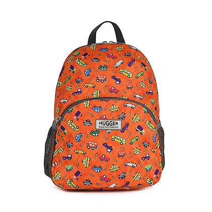 Hugger-Medium-Size-Backpack-Backpack-For-Girls-Daypack-School-Bags-Toddler Backpack-Mini-Backpack-Pattern-Cars-Traffic