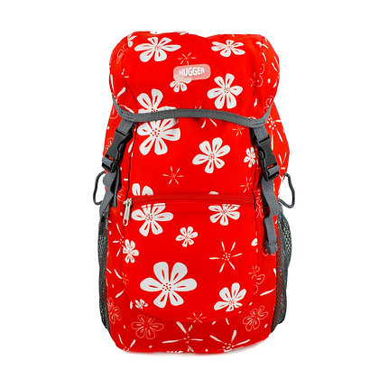 Hugger-10L-Backpack-Daypack-School-Bag-Fits- Backpack-Travel-Backpack-Hiking-Gear-Backpack-For-Girls-School-Bags-Hawaiian-Flo
