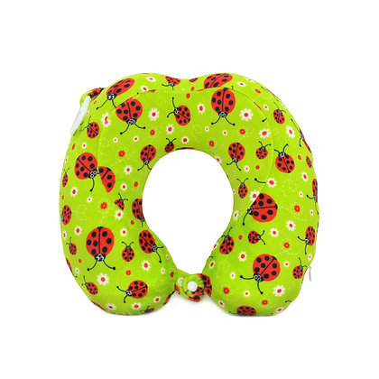 Hugger-Neck-Pillow-For-Adults-Travel-Neck-Pillow-Neck-Support-Pillow-Best-Neck-Pillow-High-Density-Memory-Foam-Ladybirds
