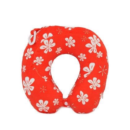 Hugger-Neck-Pillow-For-Adults-Travel-Neck-Pillow-Neck-Support-Pillow-Best-Neck-Pillow-High-Density-Memory-Foam-HawaiianFlower