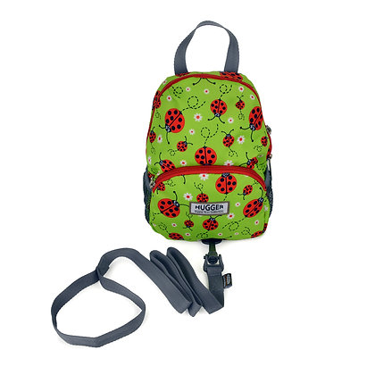 Hugger-Toddler-Backpack-Backpack-For-Girls-School-Bags-Baby-Leash-Eco-friendly-Mini-Backpack-Little-Backpack-Pattern-Ladybird