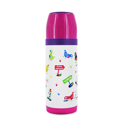 Hugger-thermos-Flask-Hydration-ADULTS-Flask-Water-Bottles-BPA-Free-Birdie-Wormies