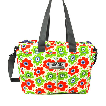 Hugger-Diaper-Bags-Mum-Parents-Baby-Bags-Changing-Bags-Flowers