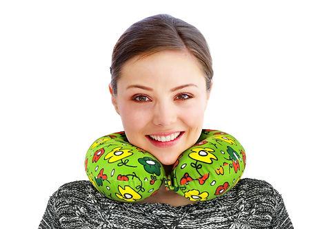 Adult Neck pillow, travel neck pillow, neck support pillow, best neck pillow, High Density Memory Foam