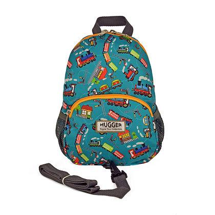 Hugger-Toddler-Backpack-Backpack-For-Girls-School-Bags-Baby-Leash-Eco-friendly-Mini-Backpack-Little-Backpack-Pattern-Trains