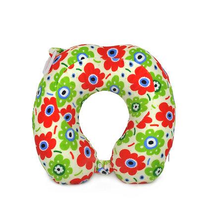 Hugger-Neck-Pillow-For-Adults-Travel-Neck-Pillow-Neck-Support-Pillow-Best-Neck-Pillow-High-Density-Memory-Foam-Flowers