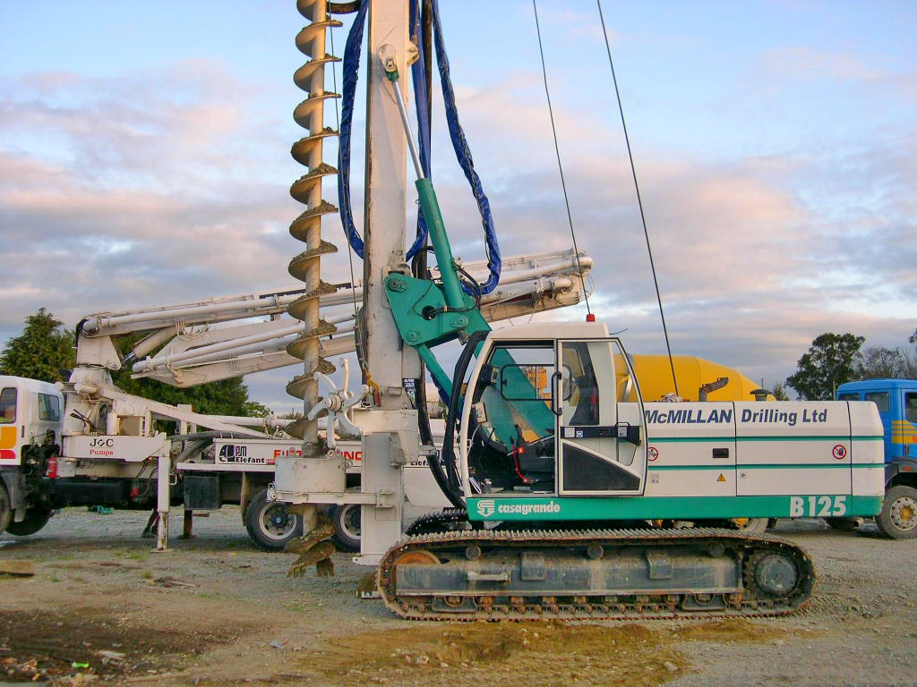 CFA Drilling machine