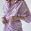Thumbnail: Платье-рубашка на запахе в цвете лаванда
