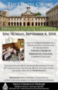 20190908 - Emmanuel College, Cambridge -