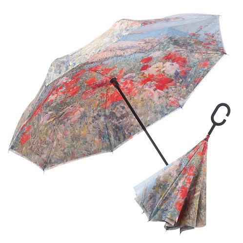 Free Standing Umbrella - Hassam's Cecia Thaxter's Garden