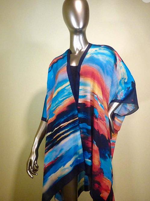 Silk Kimono-Key Largo