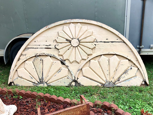 Antique Floral Gable