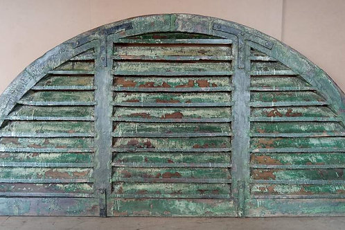Antique furniture door reclaimed salvaged boutique shopping Kerrville Ingram builder architect louvers architectural designer