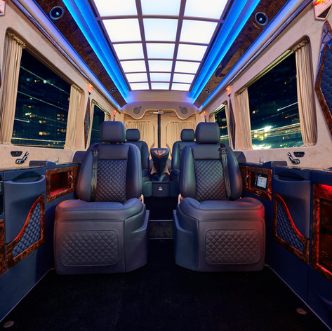 NEW Mercedes Benz Sprinter PREMIUM PRIVATE JET VAN